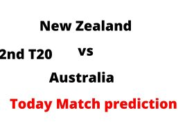 New Zealand vs Australia 2nd T20 Aaj ka match koun jitega-Today Match prediction hindi