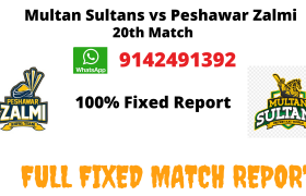 Multan Sultans vs Peshawar Zalm